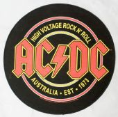 AC/DC - 'High Voltage' Round Backpatch
